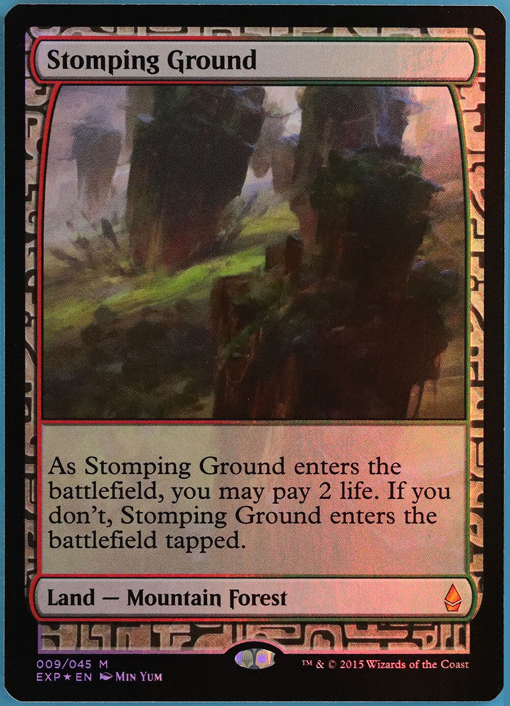 Ground FOIL Zendikar Expeditioner SLIGTLY PLD bilD (ID) ABUspel