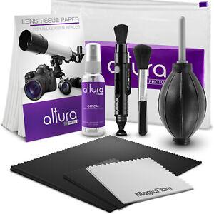 Camara-Profesional-De-Fotos-Altura-amp-Kit-De-Limpieza-De-Lente-Para-Canon-Nikon-Sony-DSLR