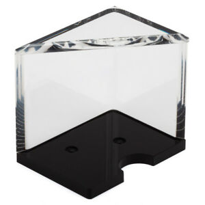 Casino Grade 4 Deck Acrylic Discard Holder Tray with Top by GSE