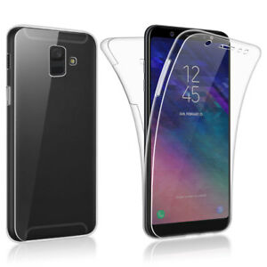 SDTEK-Samsung-Galaxy-A6-2018-Case-360-Full-Cover-Silicone-Front-Back