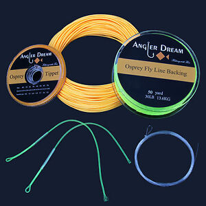 WF-1-2-3-4-5-6-7-8-9F-Fly-Fishing-Line-Combo-Fly-Line-Backing-Leader-Tippet