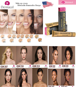 Dermacol-High-Cover-Makeup-Foundation-Hypoallergenic-Waterproof-SPF-30-US-SELLER