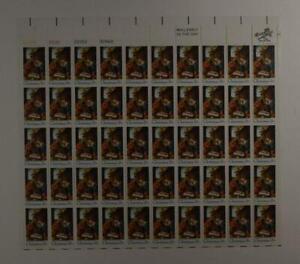 US SCOTT 1414 PANE OF 50 CHRISTMAS NATIVITY SCENE STAMPS 6 CENTS FACE MNH