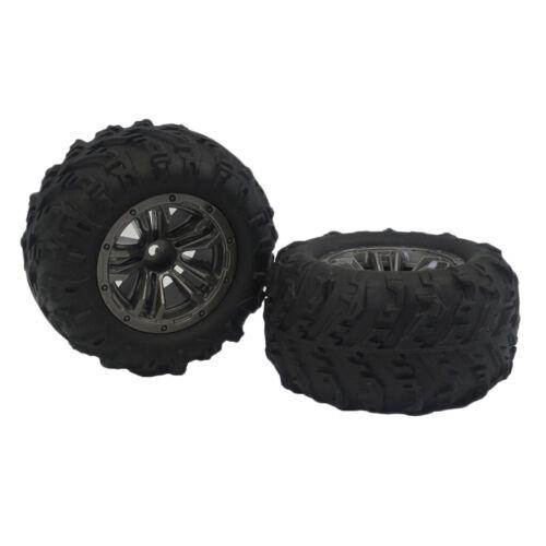 8x RC Felgen Reifen Gummireifen Ersatzreifen Set für Xinlehong Q901 Q902 Q903