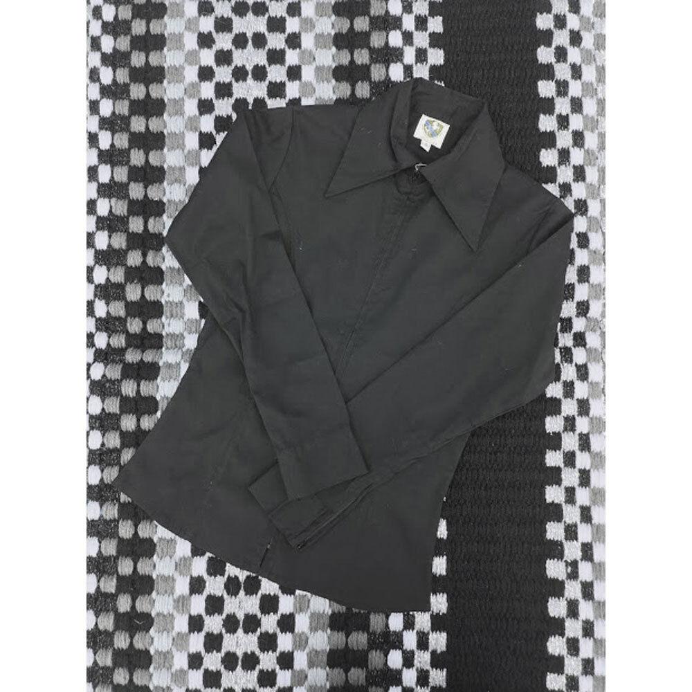 38227 Royal Highness Western Girl's Western Highness Zip Up Show Shirt NEW b49153