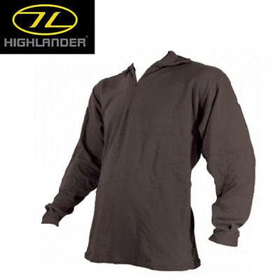 Highlander Military Army Thermal Base Layer Bottoms Long Johns Thermals Black