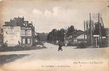 LES LAUMES COTE d'OR FRANCE~le ROND POINT~WWI US SOLDIER MAIL POSTCARD 1919