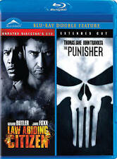 Law Abiding Citizen/Punisher (Blu-ray Disc, 2011, Canadian)