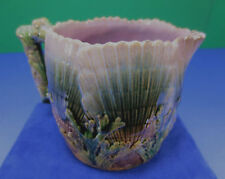"Antique Etruscan Majolica ""Shell and Seaweed"" Creamer, circa 1880's"