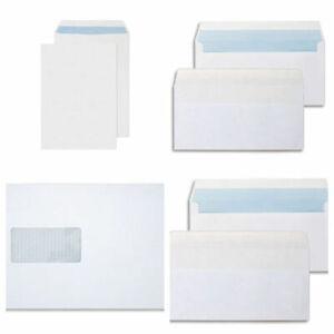 A5 fenêtre blanc self seal enveloppes 90gsm 250 x C5