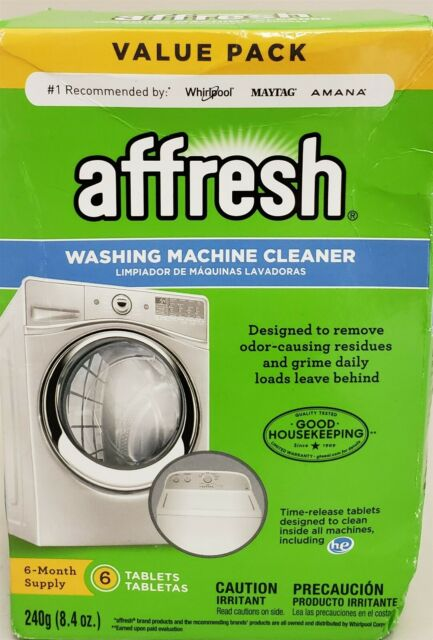 Affresh Washing Machine Cleaner, 6 Tablets: Cleans Front ...