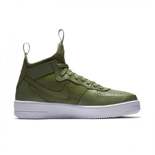 Hombre Nike Air Force 1 Ultraforce Mediados de Verde/Blanco Palma Verde/Blanco de 864014 301 Tamaño: 6c6c5a