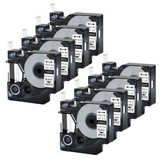 8pk For Dymo Rhino 42005200 Heat Shrink Tube 18055 Industry Label Tape 12x5