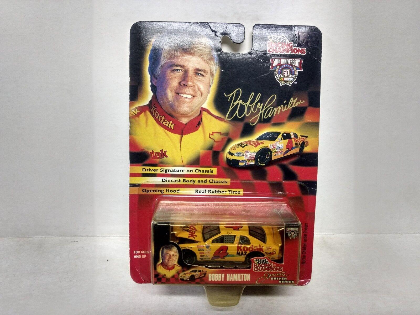 Racing Racing Racing Champions Serie Firmata Bobby Hamilton Kodak 1 64 Scala Diecast 011b72