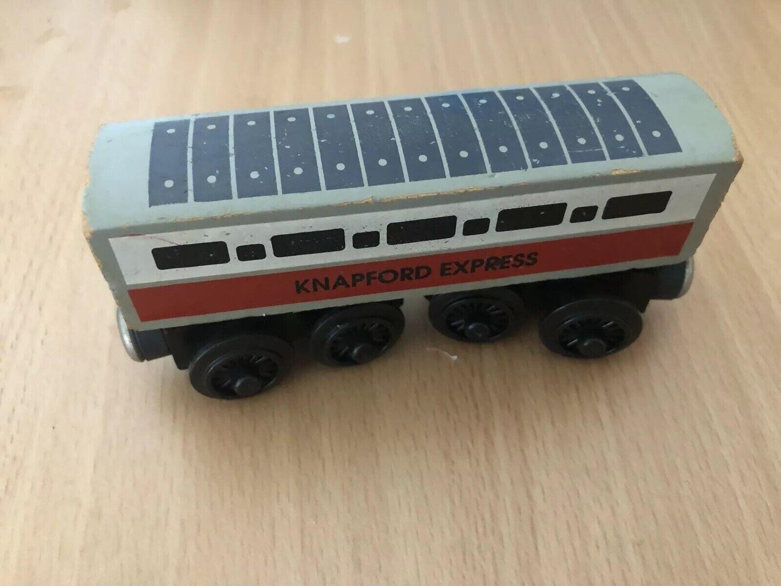 1992 Shining Time Wooden Thomas Train Version 3 Knapford Express  RARE