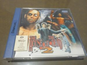 SEGA-DREAMCAST-HOUSE-OF-THE-DEAD-2-ORIGINAL-IN-JEWEL-CASE-INC-MANUAL-EC-PAL