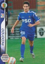 N°140 PABLO REDONDO MARTINEZ # GETAFE.CF CARD PANINI MEGACRACKS LIGA 2007