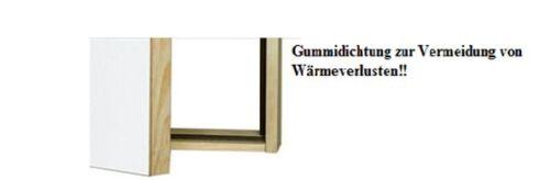 Drempeltür Kniestocktür Abseitentür mit Wärmedämmung U-Wert 1,1 55 x 80 cm