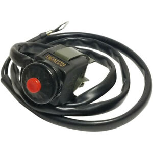 K/&S Technologies 12-0103 Kawasaki KX Style Engine Kill Switch