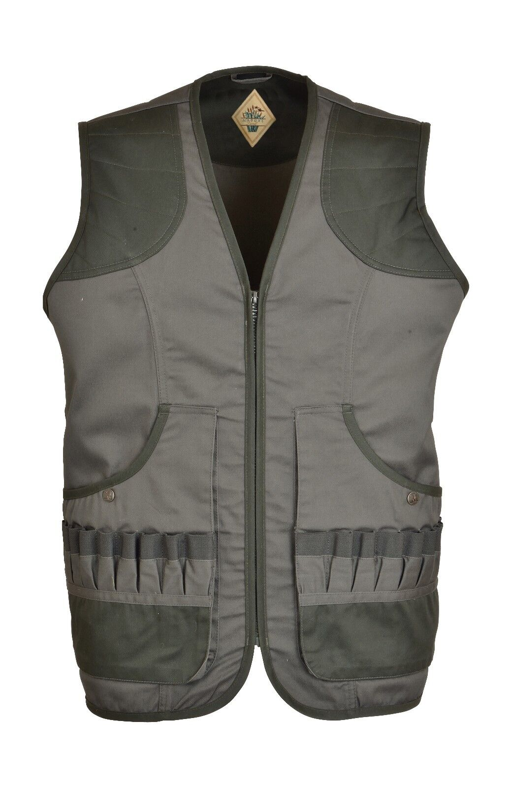 1206 Percussion Shooting Waistcoat Gilet Vest Hunting Reinforced Shoulder New