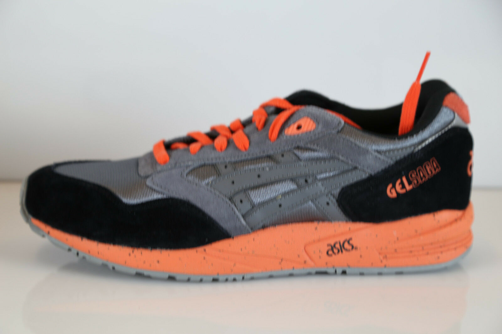 Asics Gel Saga grau Orange H137K-1105 9.5-13 lyte 1