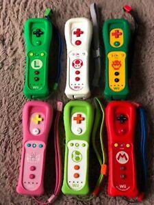 Nintendo official wii controller tested!MARIO YOSHI LUIGI PEACH KOOPA