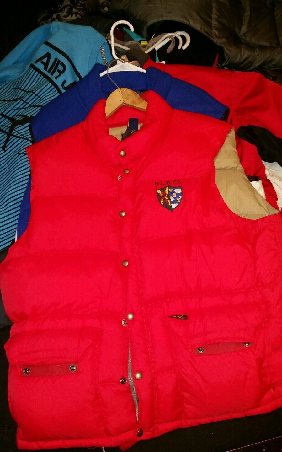 Ralph Lauren Rugby puffer vest  polo sui cookie