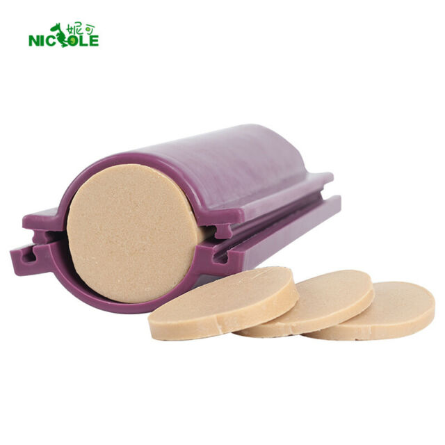Nicole Round Tube Column Silicone Soap Candle Mold Embed Soap Making Supplies