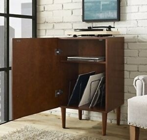 Image Is Loading Midcentury Turntable Cabinet Stand Record Player Vinyl Storage