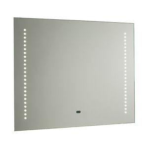Endon Rift Led Shaver Bathroom Mirror Ip44 1 5w 5 5w Sensor H 500mm W 600mm Ebay