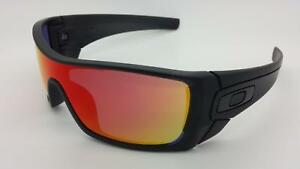 a76f0bac5f Image is loading NEW-Oakley-Batwolf-Sunglasses-Matte-Black-Ink-Ruby-