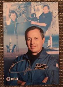 Michel Tognini original signierte Autogrammkarte,autograph,Astronaut, Mir, Esa