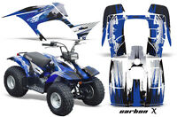 Yamaha Breeze 125 Graphics Sticker Kit Amr Racing Atv Quad Decal 89-07 Carbon Bu