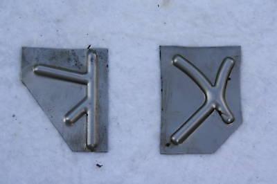 VESPA Trittblech K X Verstärkung V 50 N S Special ET3 Primavera Reparaturblech