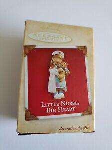 Hallmark Keepsake Ornament 2004 Little Nurse Big Heart RN ...
