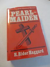 H. Rider Haggard PEARL-MAIDEN Tom Stacey Edition in Dust Jacket HRH