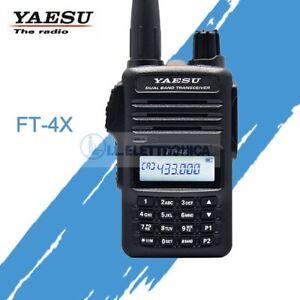 Yaesu FT-4X Transceiver Laptop Vhf / Uhf 100113