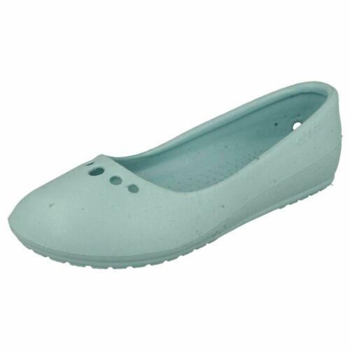 CROCS Ladies Prima Sea Foam Sandals