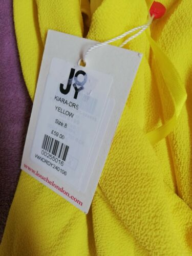 Dress Crossover Size Yellow Beautiful Back Small R1Awqcgq