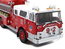 Code 3 FDNY Mack CF pumper #92 1/64 NIB +