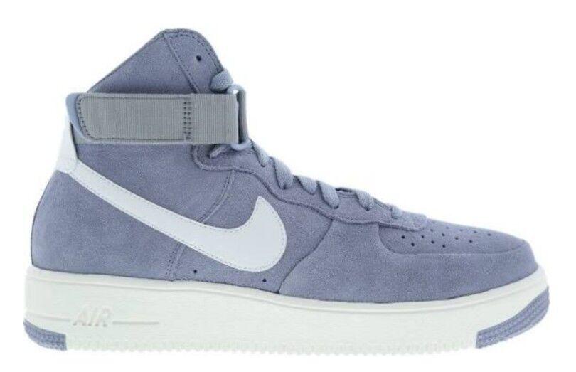 Nike Air Force 1 Ultraforce Hi Uk 8 Glacier Grau Weiß Basketball Bnib 880854004