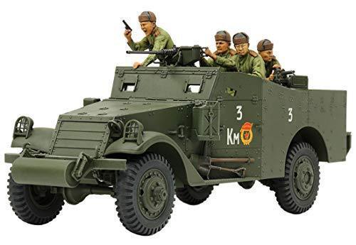 Tamiya 1 35 Militare Miniatura Serie No.363 M3A1 Scout Auto Modello Auto 35363