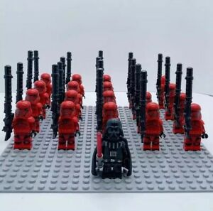 20x-Red-Storm-Troopers-Mini-Figures-LEGO-STAR-WARS-Compatible