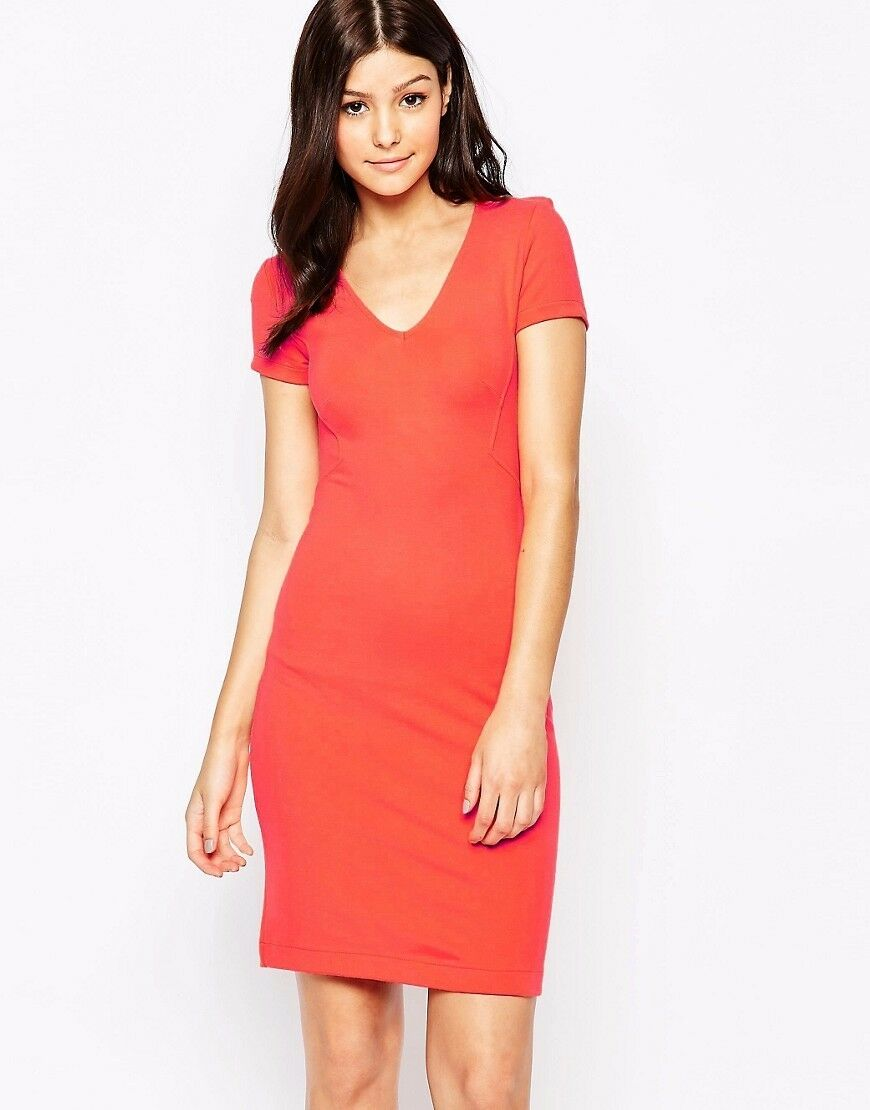 New FRENCH CONNECTION Marie Stretch Dress US 4 FR 36