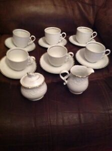 Mitterteich-Bavaria-Germany-Mid-Century-Part-Tea-Set-In-Perfect-Condition
