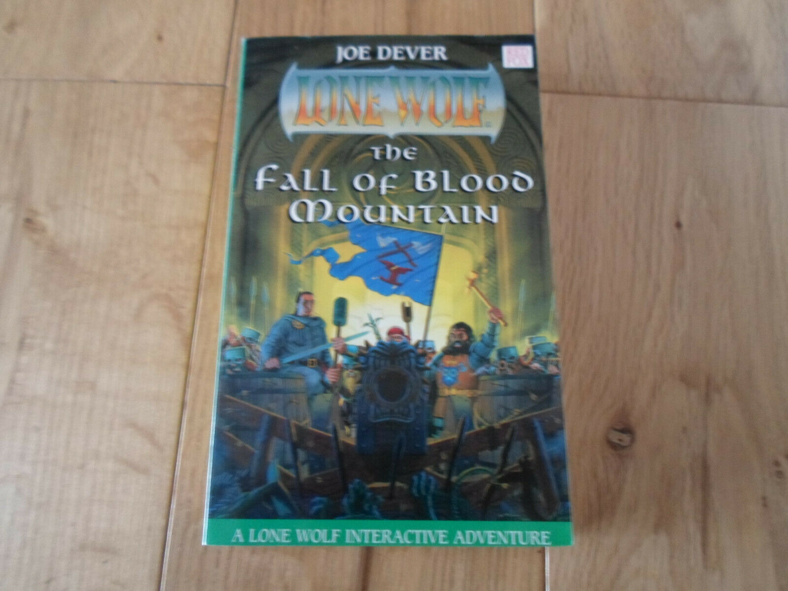 Lone Wolf Joe Dever The Fall of Blood Mountain Book 26 1st Edition (UNREAD NM+)
