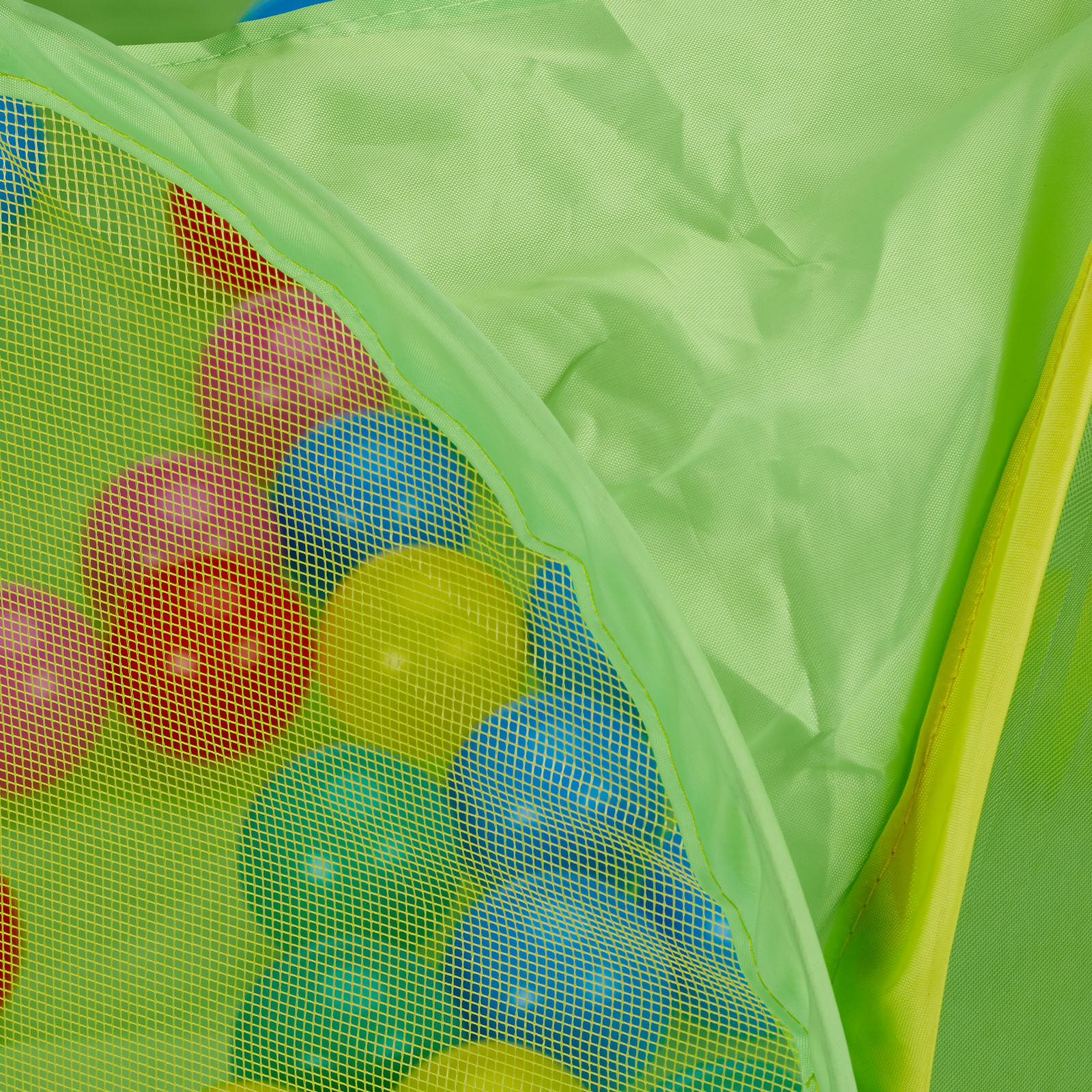 Baby Ball Pool, Square Pop Up Toddler Ball Pit with 50 BPA Free Balls, 6 Months
