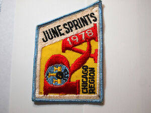 Vintage Sports Car Club of America patch SCCa nos