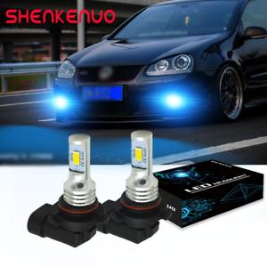 FOR VW Golf MK5 HB4 50w ICE Blue 8000K Xenon HID Front Fog Light Bulbs Pair