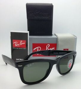 a1283ddc53c Image is loading Polarized-RAY-BAN-Sunglasses-FOLDING-WAYFARER-RB-4105-